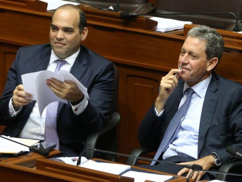 Fernando Zavala y Alfredo Thorne