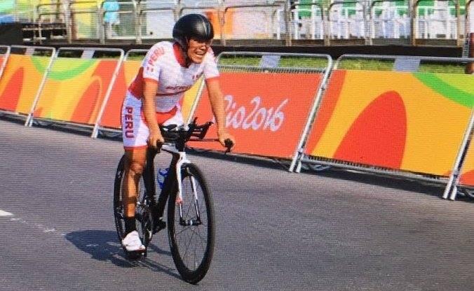 Hilario no pudo subir al podio en la prueba contrarreloj.