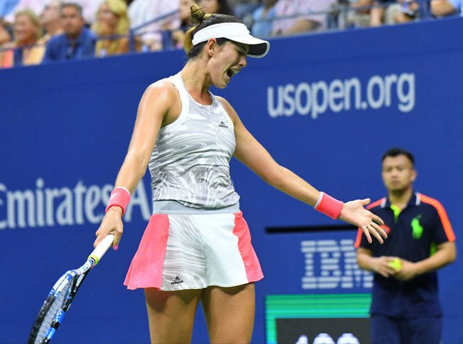 Muguruza fue eliminada del US Open.