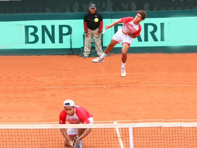 Perú buscará el punto que le falta para ascender al Grupo I de la Zona Americana de Copa Davis.