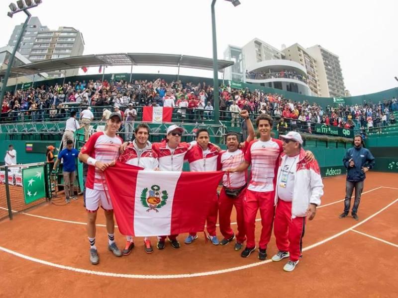 Perú se medirá ante los ecuatorianos en el inicio de la Copa Davis 2017.
