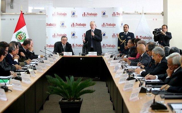 El presidente Kuczynski lideró el relanzamiento del CNTPE.