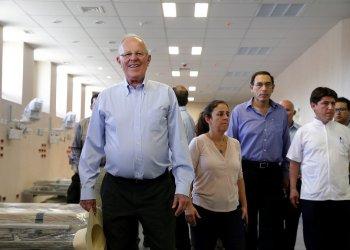 El presidente Kuczynski supervisó la infraestructura e implementación del Hospital de Jaén.