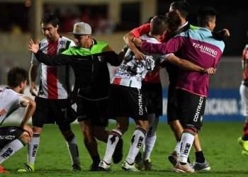 Palestino dio el gran golpe de la Copa Sudamericana tras eliminar al Flamengo.