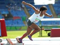 Yeny Vargas  participará mañana en los 200 metros.