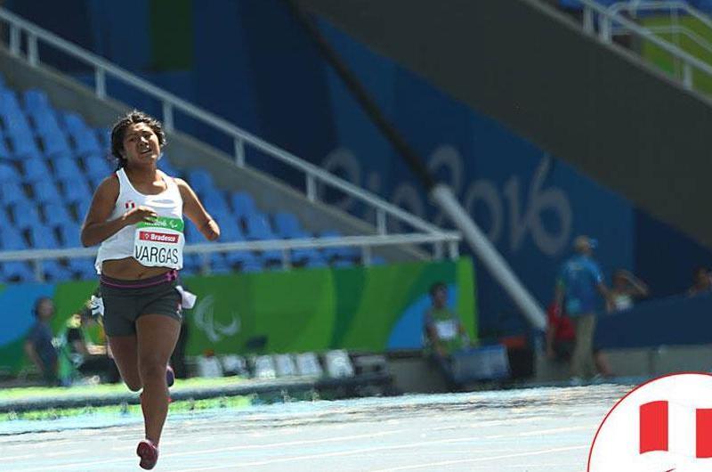 Yeny Vargas  puso fin a su participación en los Paraolímpicos.