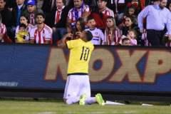 Cardona enmudeció el Defensores del Chaco de Paraguay con un gol en los minutos adicionales.