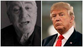 Robert De Niro y Donald Trump