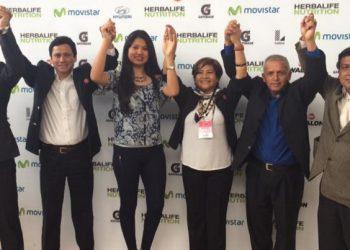 Diana Gonzáles y su junta directiva conducirán el voleibol peruano a partir del próximo año.
