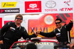 Navarro y Orlandini ganaron la edición 2016 del Rally Caminos del Inca.