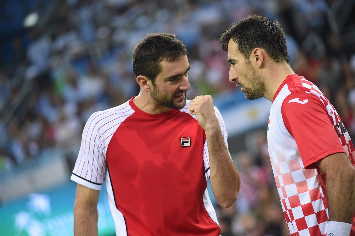 Cilic y Dodig acercaron a su selección hacia el título de Copa Davis.