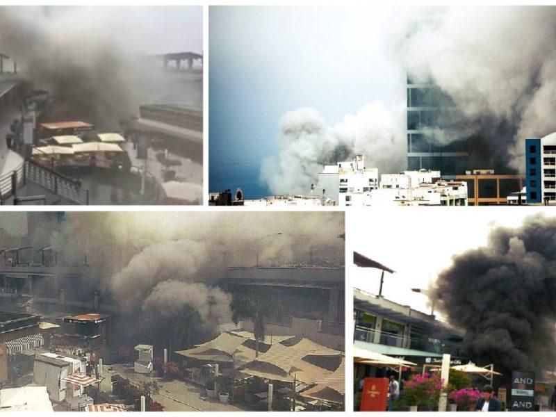 Al menos cuatro muertos por incendio en Larcomar [VIDEOS]