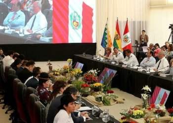 Perú y Bolivia combatirán juntos delitos transnacionales.