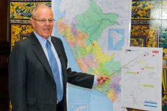 Presidente Kuczynski anunció viaje a Pucallpa.