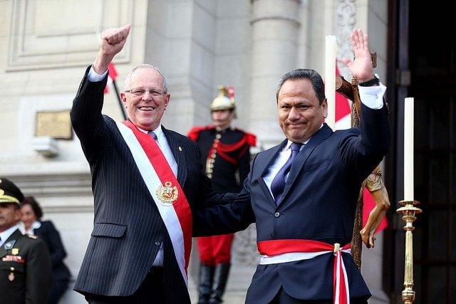 El presidente Kuczynski aceptó la renuncia del ahora ex ministro de Defensa,  Mariano González.