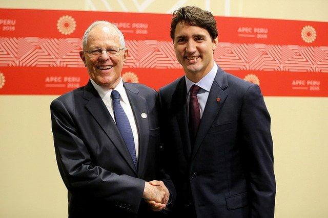 Gobiernos de Perú y Canadá abordaron importantes temas bilaterales.