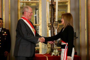 La nueva ministra de Educación es Marilú Martens