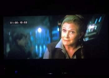 Mira la escena eliminada de la Princesa Leia en el Episodio VII [VIDEO]