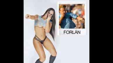 Fotos Facebook / Sexy y única, Fabi Martínez tiene su estilo y quiere ser la novia del mundial