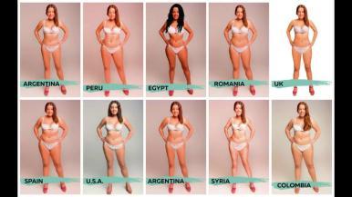 Esta es la mujer ideal en 18 diferentes países del mundo