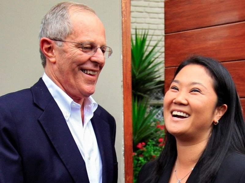 PPK y Keiko Fujimori se reúnen hoy en casa de Juan Luis Cipriani