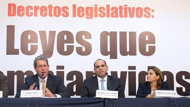 """Fernando Zavala: """"Decretos emitidos por el gobierno son necesarios para tener un Perú moderno"""""""