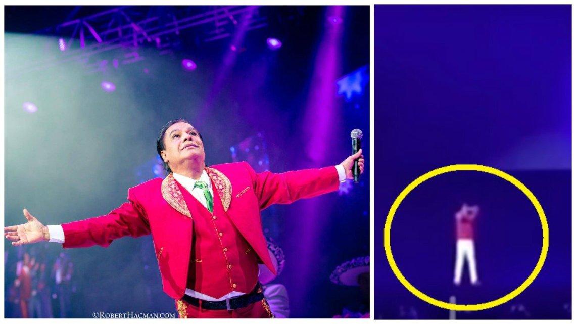 """Juan Gabriel """"revivió"""" en forma de holograma y emocionó a sus fanáticos"""