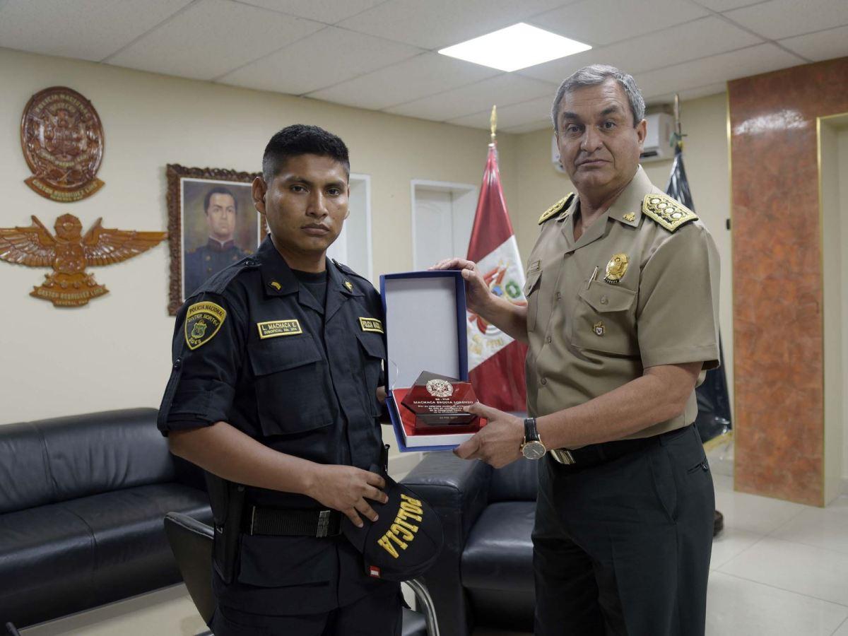 Suboficial PNP Lorenzo Machaca