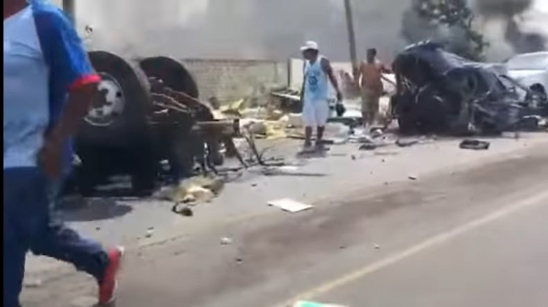 Un total de 13 víctimas fatales del accidente de tránsito ocurrido el último jueves en el distrito trujillano de Moche