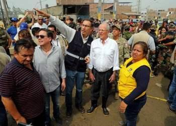 Presidente, Kuczynski, huaico, Punta Hermosa, Chosica, emergencia, Huaycoloro