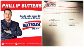Phillip Butters se une a la familia de Exitosa.