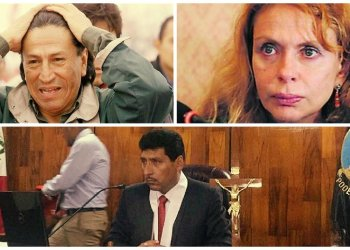 Alejandro Toledo, Eliane Karp y juez