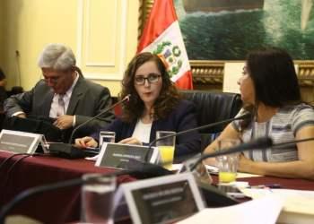 Rosa Bartra lidera Comisión Lava Jato del Congreso.