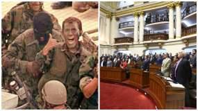El Congreso declaró 'Héroes de la Democracia' a los comandos Chavín de Huántar