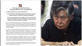 Alberto Fujimori pierde otra posibilidad de salir libre