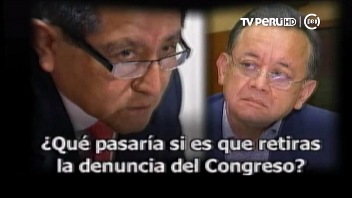 Audio de Edgar Alarcón y auditor
