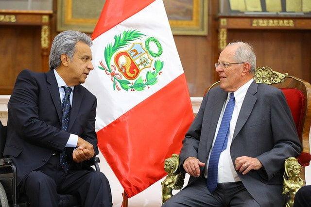 Presidente Kuczynski viaja hoy a Ecuador para asistir a la asunción de mando de LenÍn Moreno