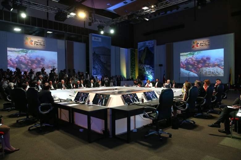 Jefe de Estado participó en instalación de XII Cumbre de Alianza del Pacífico.
