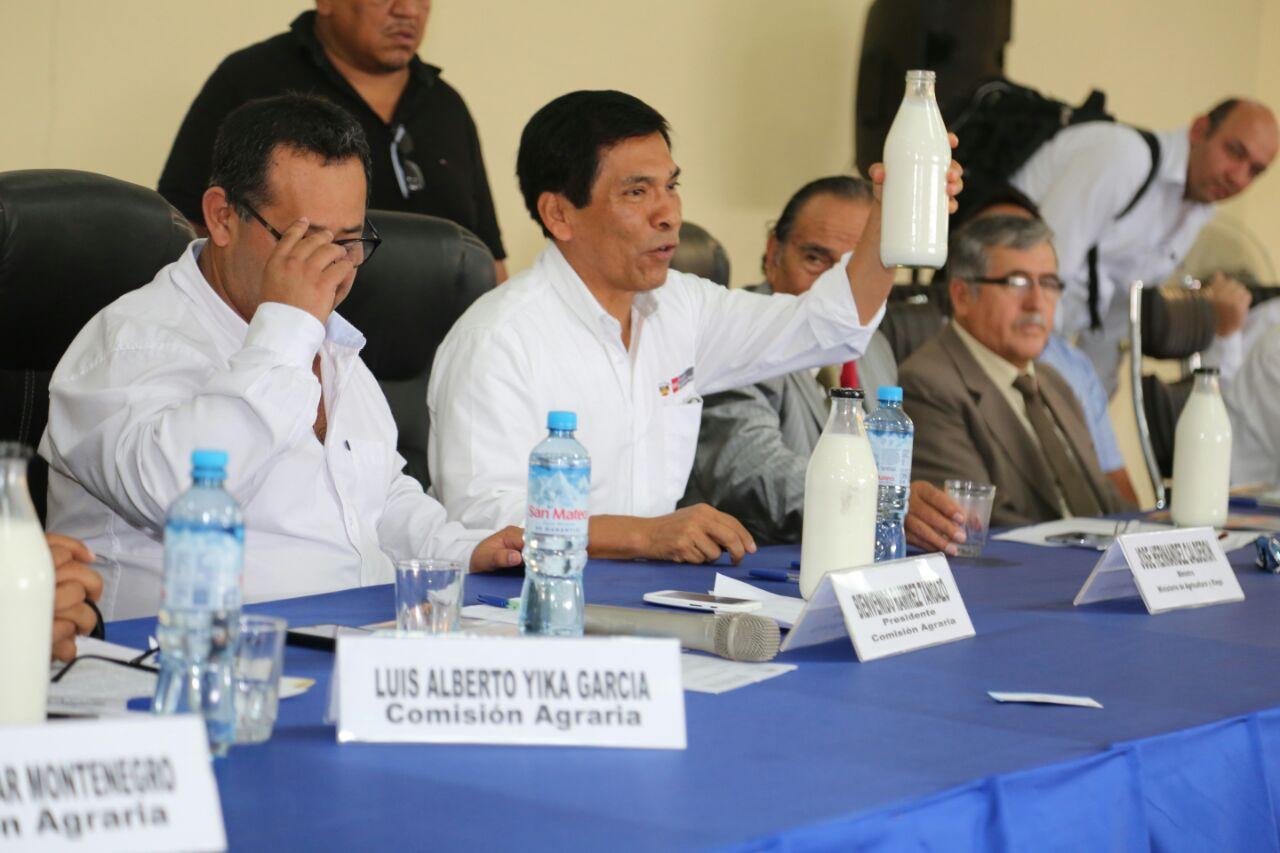 Decreto Supremo sobre reglamentación de la leche y productos lácteos será publicado la otra semana en El Peruano