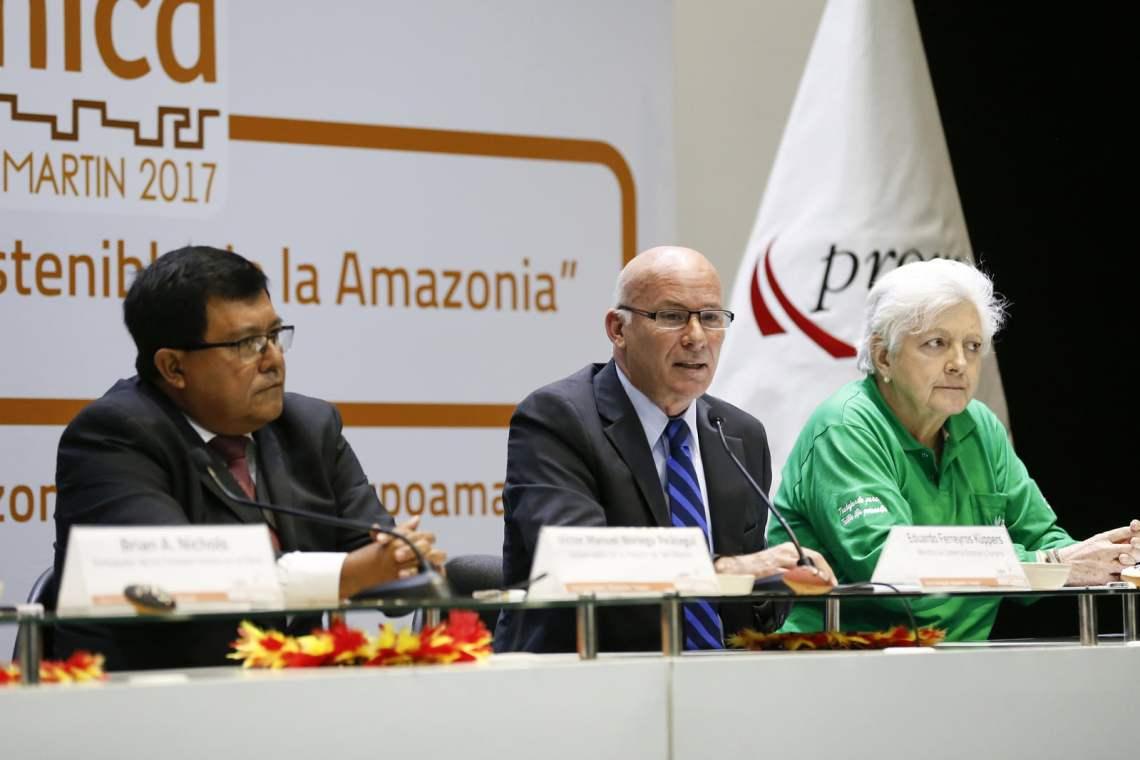El titular del Mincetur, Eduardo Ferreyros, realizó el lanzamiento de la Expo Amazónica 2017.