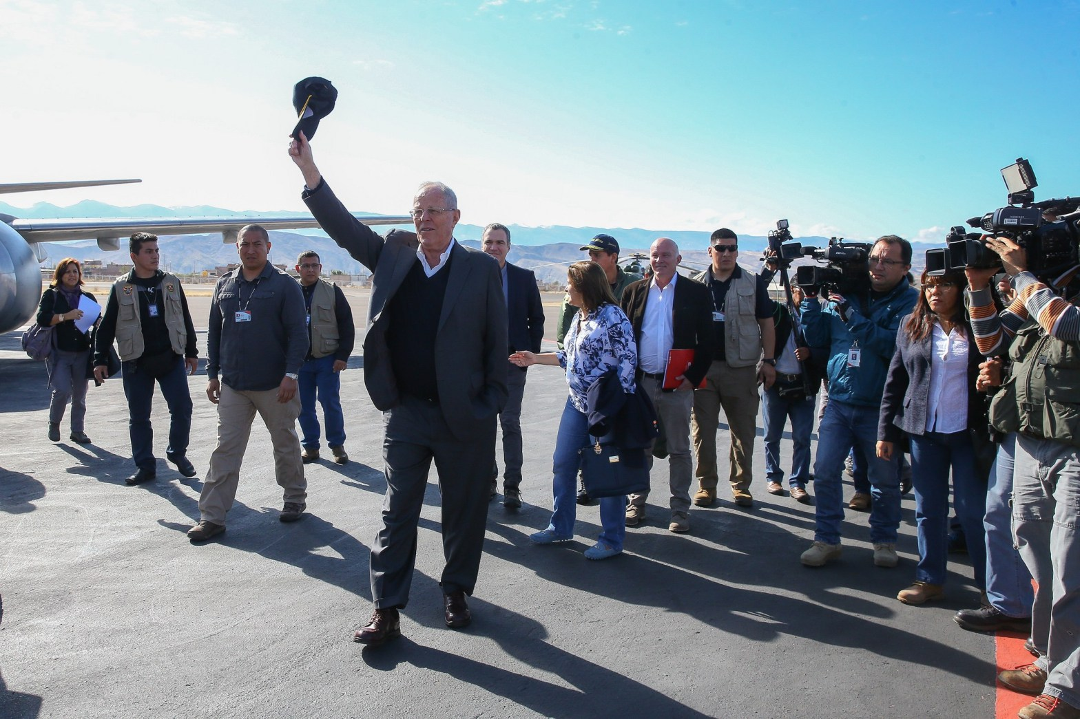 "Presidente Kuczynski: ""El Perú va adelante, ténganlo por seguro"""