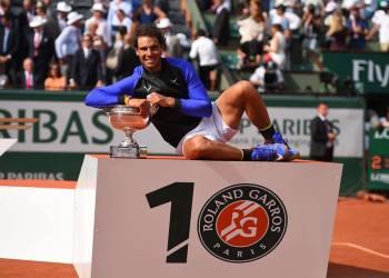 Rafael Nadal ya tiene 15 títulos de Grand Slam, de los cuales 10 ganó en París.