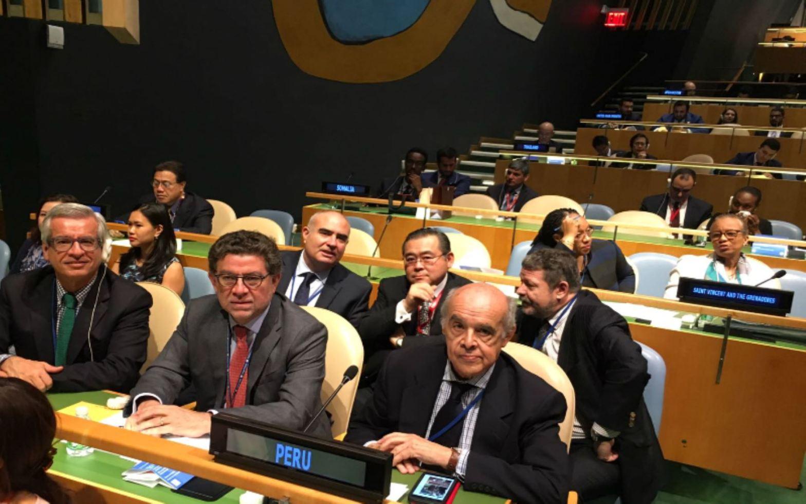 Perú es elegido miembro no permanente del Consejo de Seguridad de la ONU