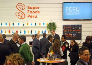 Perú lanzó los superalimentos en Madrid.