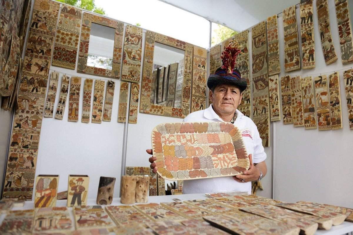 Todas las regiones estarán representadas por primera vez en la Feria Nacional de Artesanía más importante del Perú.