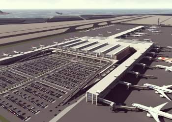 Aerial-day / Proyecto del nuevo Aeropuerto Internacional Jorge Chávez