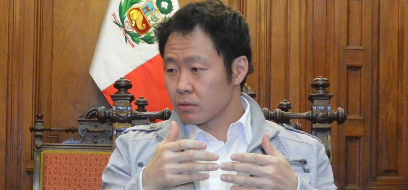 """Kenji Fujimori """"Apretón de manos con Humala en Diroes creo que llegó a los corazones"""""""