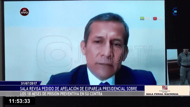 Ollanta Humala Tasso en prisión
