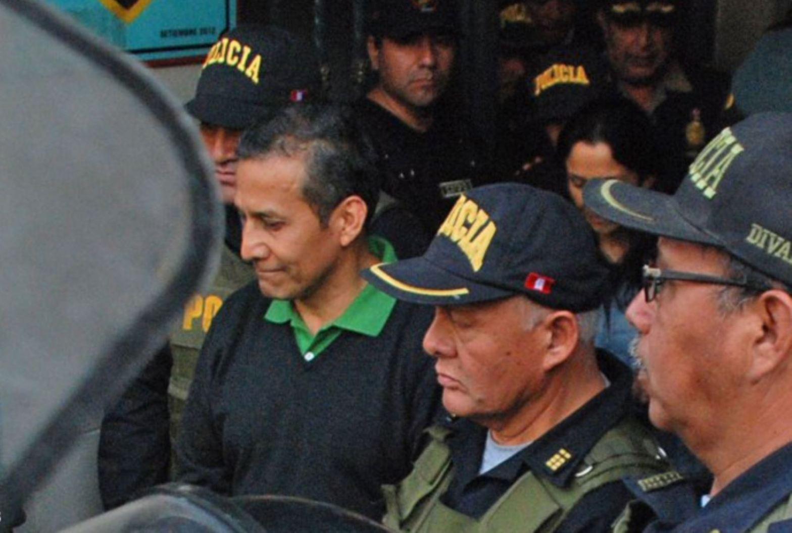 Ollanta Humala va a prisión