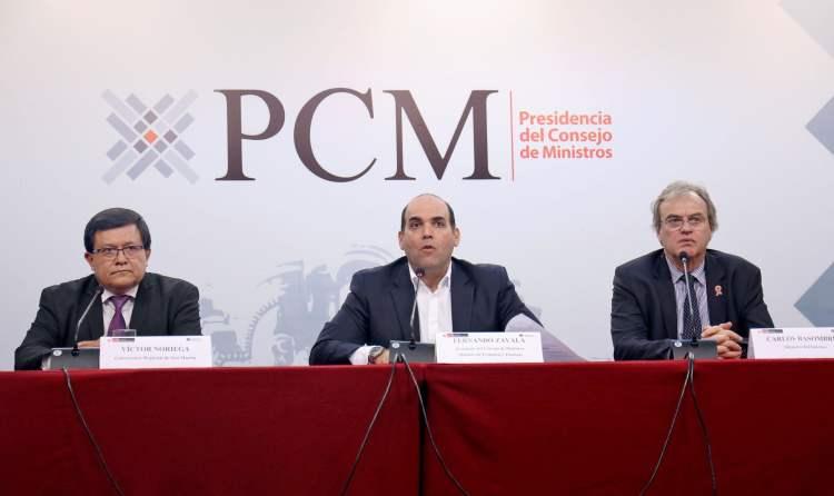 El ministro Basombrío manifestó que existe mucha desigualdad en la situación de los efectivos de la PNP.